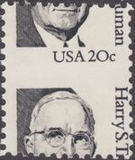 United States of America 1984 Great Americans b1