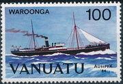 Vanuatu 1984 Ausipex '84 - Ships c