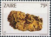 Zaire 1983 Minerals c