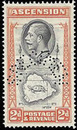 Ascension 1934 George V and Sights of Ascension n