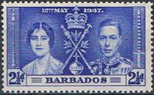 Barbados 1937 George VI Coronation c