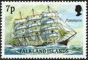 Falkland Islands 1989 Ships of Cape Horn g