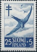 Finland 1952 Fight against Tuberculosis c