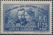 France 1938 40th Anniversary of the Discovery of Radium a
