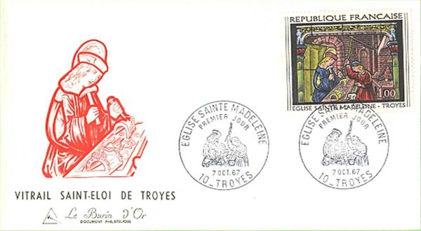 France 1967 French Art (1967-4) FDCc
