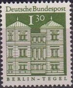 Germany, Federal Republic 1969 Building Structures from Twelve Centuries (3rd Group) a