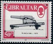 Gibraltar 1987 Guns and Artillery j