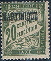 Martinique 1927 Postage Due Stamps of France Overprinted c.jpg