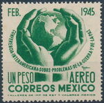 Mexico 1945 Inter-American Conference (Airmail) b