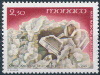 Monaco 1990 Mercantour National Park - Micro-Minerals b