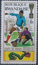 Rwanda 1970 Football World Cup - Mexico e