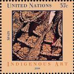 United Nations-New York 2004 Indigenous Art d