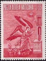 Vatican City 1956 Archangel Gabriel e