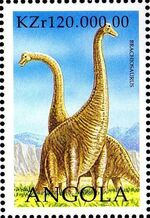Angola 1998 Prehistoric Animals (2nd Group) c