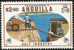 Anguilla 1980 Salt Industry f