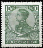 Azores 1910 D. Manuel II c