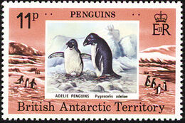 British Antarctic Territory 1979 Penguins c