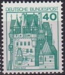 Germany, Federal Republic 1977 Strongholds and Castles c