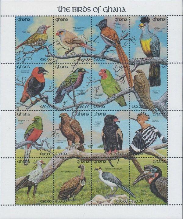 Ghana 1991 The Birds of Ghana w1