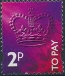 Great Britain 1994 Postage Due Stamps b