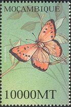 Mozambique 2002 Butterflies s