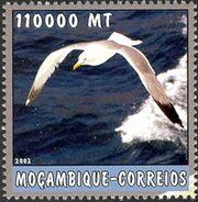 Mozambique 2002 The World of the Sea - Sea Birds 1 g