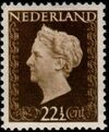 Netherlands 1948 Queen Wilhelmina - Type Hartz e