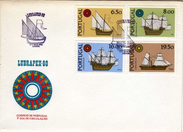 Portugal 1980 Lubrapex 80 International Stamp Exhibition l