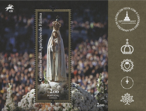Portugal 2017 Centenary of the Apparitions at Fatima SSa