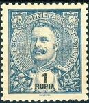 Portuguese India 1903 D. Carlos I - New Colours and Values m