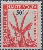 Upper Volta 1962 Gazelle f