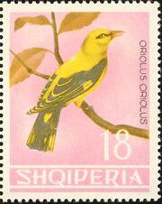 Albania 1964 Birds i