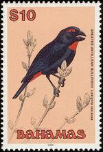 Bahamas 1991 Birds p