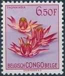 Belgian Congo 1952 Flowers o