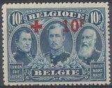 Belgium 1918 King Albert I (Red Cross Charity) n