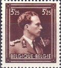 Belgium 1944 King Leopold III Crown and V f