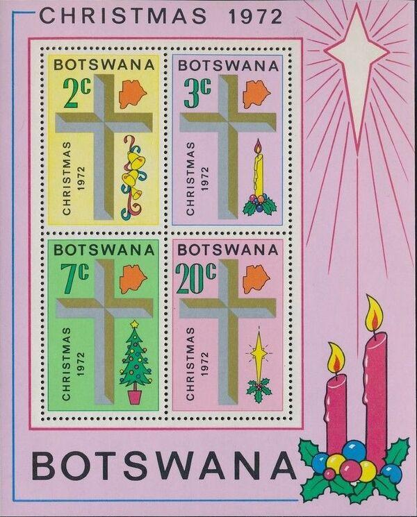 Botswana 1972 Christmas o