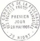 France 1966 Tourism - St. Andrew's and Sèvre River Pma
