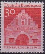 Germany, Federal Republic 1967 Building Structures from Twelve Centuries (2nd Group) c