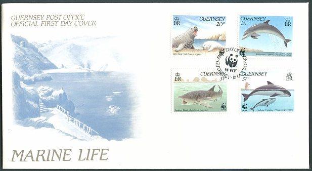 Guernsey 1990 WWF Marine Life h