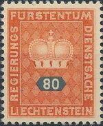 Liechtenstein 1950 Crown h