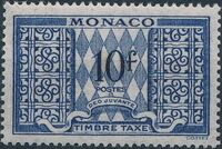 Monaco 1946 Postage Due Stamps i