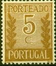 Portugal 1940 Postage Due Stamps a