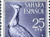 Spanish Sahara 1961 Birds