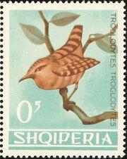 Albania 1964 Birds a