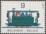 Belgium 1985 Public Transportation Year a