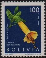 Bolivia 1962 Flowers e