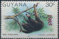 Guyana 1985 Wildlife (Overprinted 1985) a
