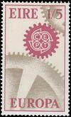 Ireland 1967 Europa-CEPT b