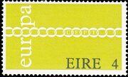 Ireland 1971 Europa-CEPT a